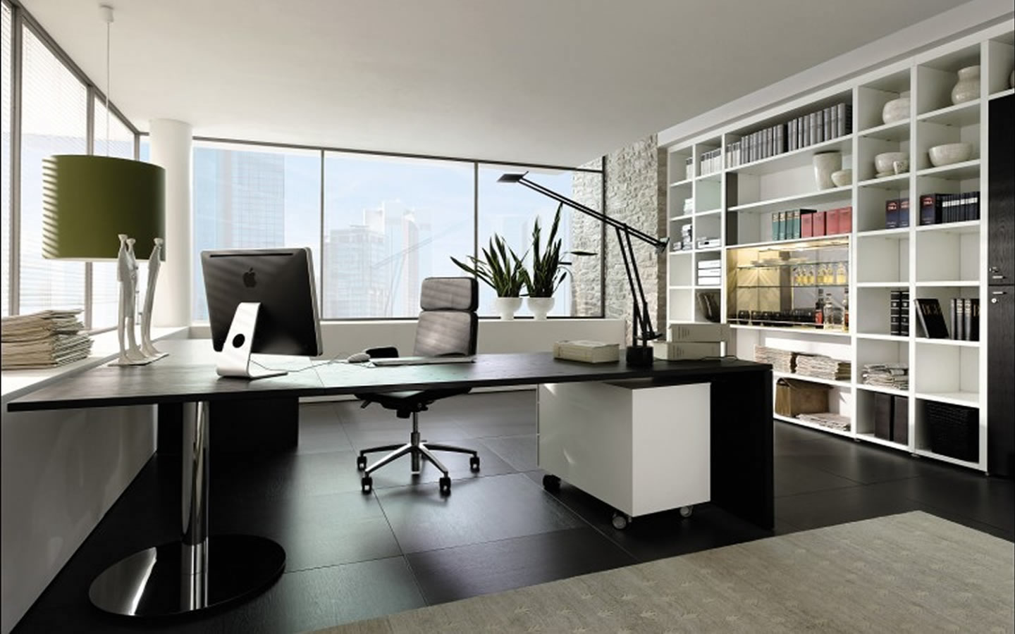 Feng shui office decor ideas